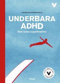 Omslagsbild för Underbara ADHD (lättläst)