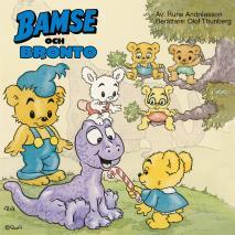 Omslagsbild för Bamse och Bronto