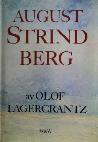 Cover for August Strindberg