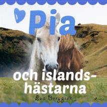 Omslagsbild för Pia och islandshästarna