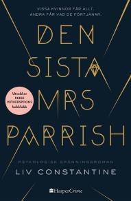 Cover for Den sista mrs Parrish