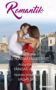 Cover for När hjärtat faller fritt/Fångad av dig/Vågat spel