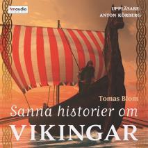 Omslagsbild för Sanna historier om vikingar