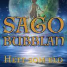 Omslagsbild för Sagobubblan : Hett som eld