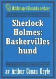 Cover for Sherlock Holmes: Baskervilles hund – Återutgivning av text från 1924