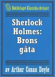Omslagsbild för Sherlock Holmes: Problemet brons gåta – Återutgivning av text från 1923