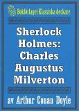 Omslagsbild för Sherlock Holmes: Äventyret med Charles Augustus Milverton – Återutgivning av text från 1904