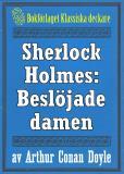 Omslagsbild för Sherlock Holmes: Äventyret med den beslöjade damen – Återutgivning av text från 1927