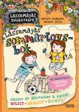 Omslagsbild för LasseMajas sommarlovsbok. Vallebyspelen