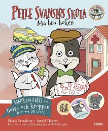 Cover for Pelle Svanslös skola. Må bra-boken