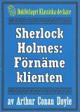 Omslagsbild för Sherlock Holmes: Äventyret med den förnäme klienten