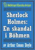 Omslagsbild för Sherlock Holmes: En skandal i Böhmen – Återutgivning av text från 1947