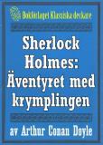 Omslagsbild för Sherlock Holmes: Äventyret med krymplingen – Återutgivning av text från 1947