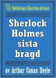 Omslagsbild för Sherlock Holmes sista bragd – Återutgivning av text från 1923