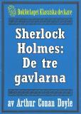Omslagsbild för Sherlock Holmes: Äventyret med de tre gavlarna – Återutgivning av text från 1926