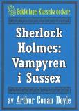 Omslagsbild för Sherlock Holmes: Äventyret med vampyren i Sussex