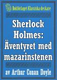 Omslagsbild för Sherlock Holmes: Äventyret med mazarinstenen – Återutgivning av text från 1923