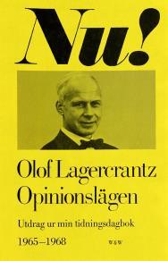 Omslagsbild för Opinionslägen : Utdrag ur min tidningsdagbok 1965-1968