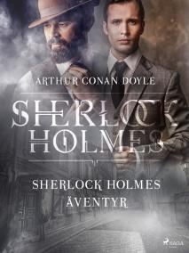 Cover for Sherlock Holmes äventyr