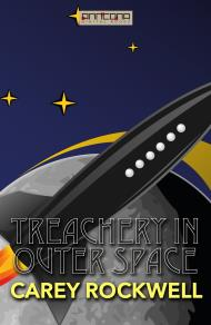 Cover for Treachery in Outer Space