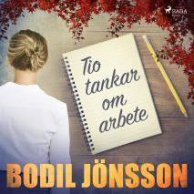 Cover for Tio tankar om arbete