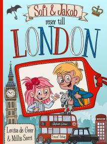 Omslagsbild för Sofi och Jakob reser till London
