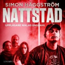 Cover for Nattstad: En sann historia