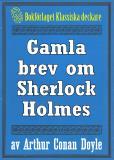 Omslagsbild för Gamla brev om Sherlock Holmes - Återutgivning av texter från 1923