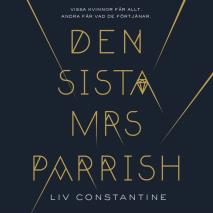 Cover for Den sista mrs Parrish