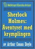 Omslagsbild för Sherlock Holmes: Äventyret med krymplingen – Återutgivning av text från 1893