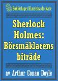 Omslagsbild för Sherlock Holmes: Äventyret med börsmäklarens biträde – Återutgivning av text från 1893