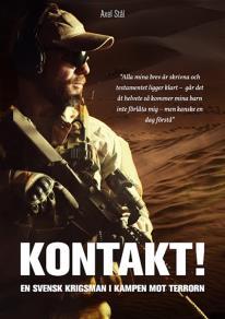 Omslagsbild för Kontakt! En svensk krigsman i kampen mot terrorn