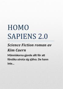 Cover for Homo Sapiens 2.0