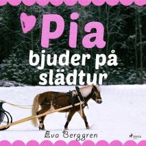 Omslagsbild för Pia bjuder på slädtur