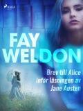 Bokomslag för Brev till Alice inför läsningen av Jane Austen