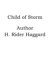 Cover for Child of Storm