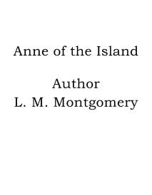 Cover for Anne of the Island