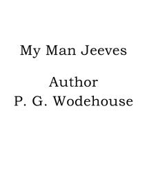 Cover for My Man Jeeves