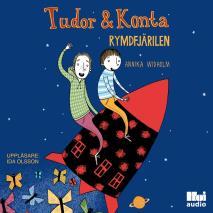 Omslagsbild för Tudor & Konta: Rymdfjärilen