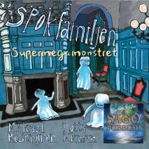 Omslagsbild för Spökfamiljen : Supermegamonstret