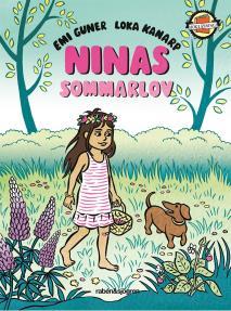 Cover for Ninas sommarlov