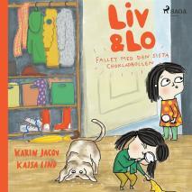 Cover for Liv och Lo. Fallet med den sista chokladbollen