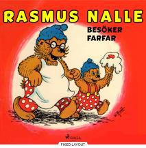 Omslagsbild för Rasmus Nalle besöker farfar
