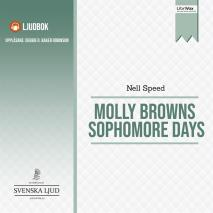 Cover for Molly Brown's Sophomore Days