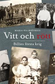 Omslagsbild för Vitt och rött - Billies första krig