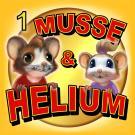 Cover for Musse & Helium. Mysteriet med hålet i väggen
