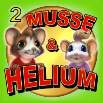 Cover for Musse & Helium. Jakten på Guldosten