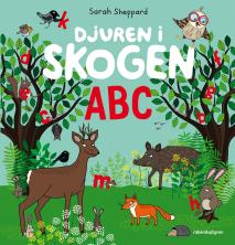 Omslagsbild för Djuren i skogen ABC