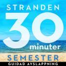 Omslagsbild för 30 minuter semester- STRANDEN