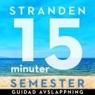 Omslagsbild för 15 minuter semester - STRANDEN